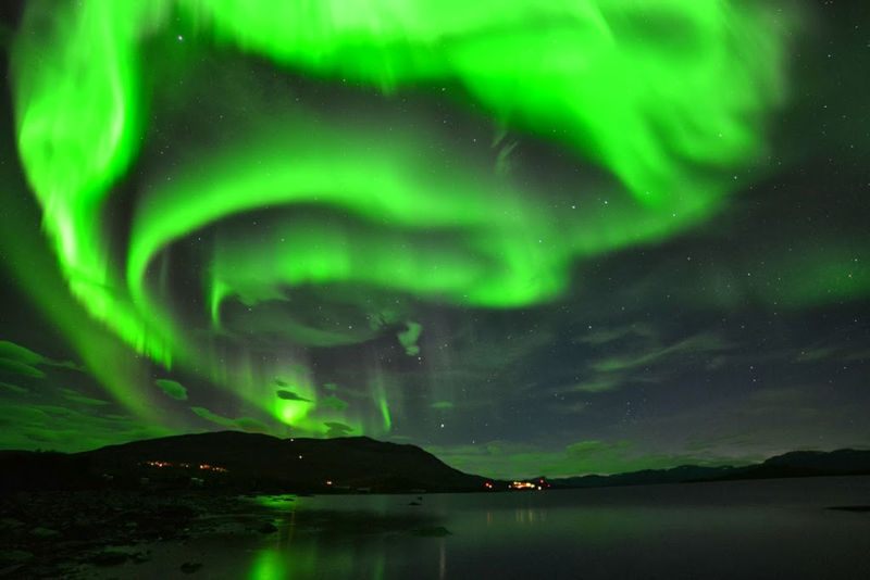 Brightest Lights Biggest Sky Aurora Borealis Northern