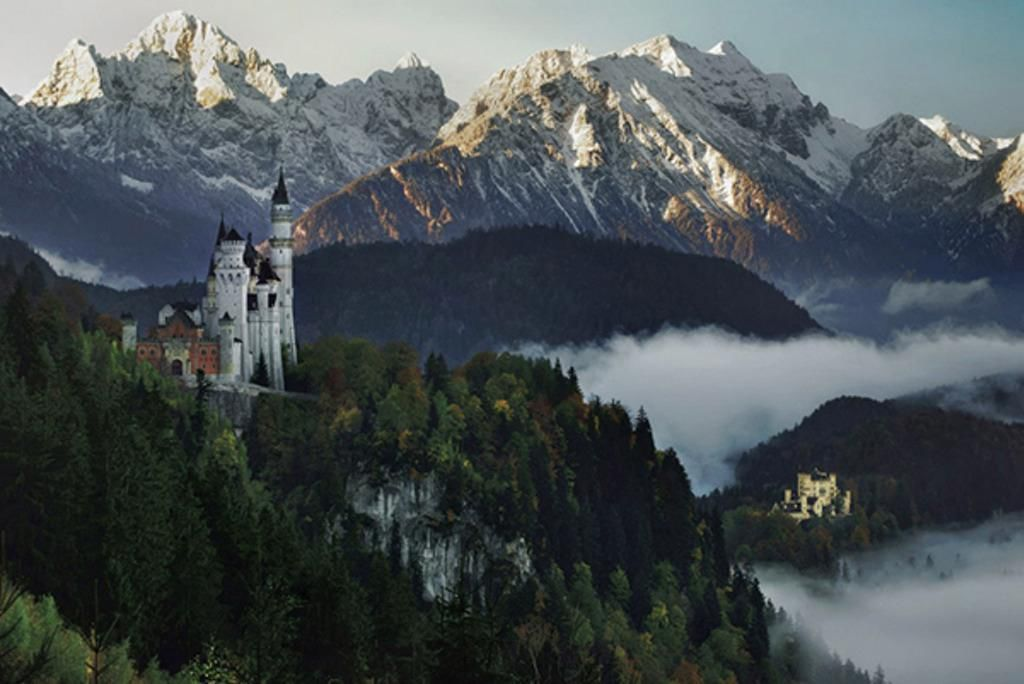 Real Fairytale Landscapes Enchanting Real Life F...
