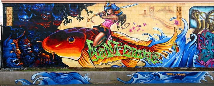 Street Art Timelapse Damnthatsinteresting