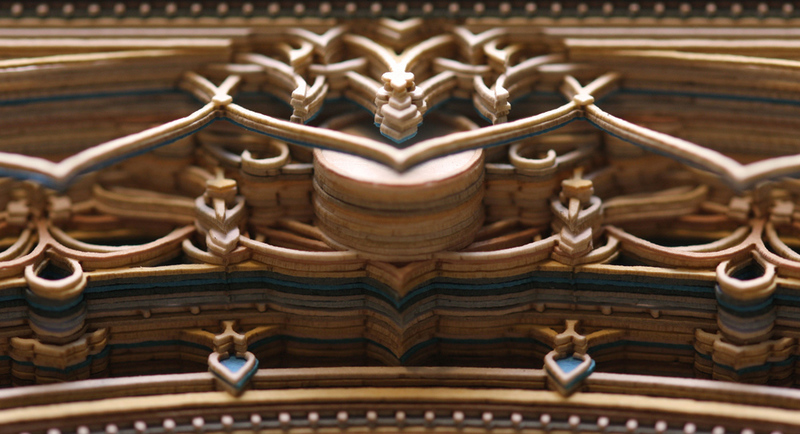 See Magnificent PrecisionCut Paper Lace Sculptures BeautifulNow - Beautiful laser cut paper art eric standley