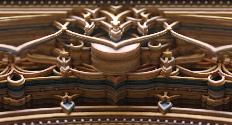 See Magnificent PrecisionCut Paper Lace Sculptures BeautifulNow - Beautiful laser cut paper art eric standley