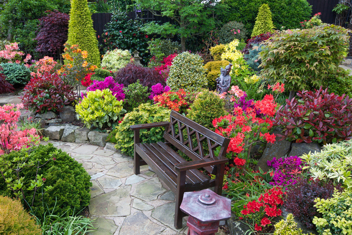 Best home gardens in the world pictures.